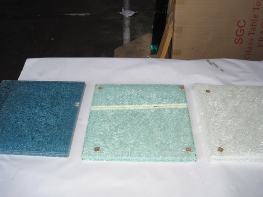 Crackle Glass Samples